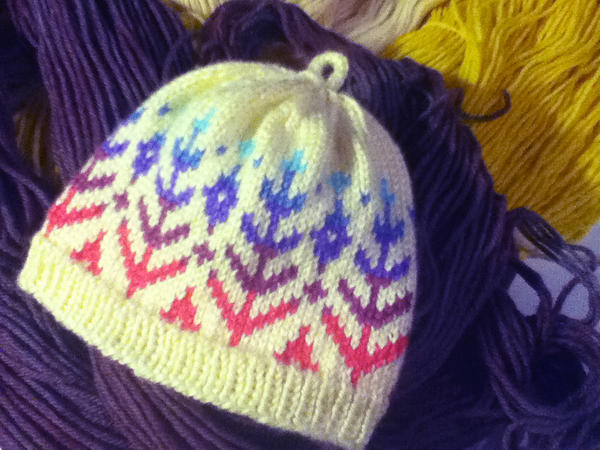 little fair isle hat by heavyteeth on DeviantArt