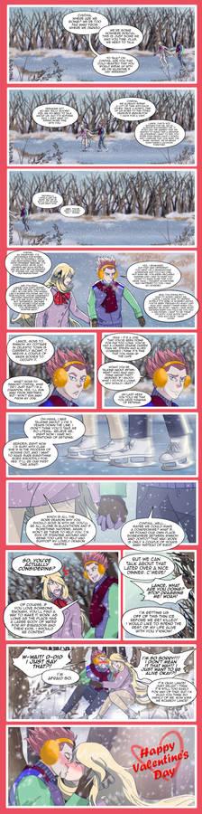 Lance X Cynthia Valentine's 2021 comic special