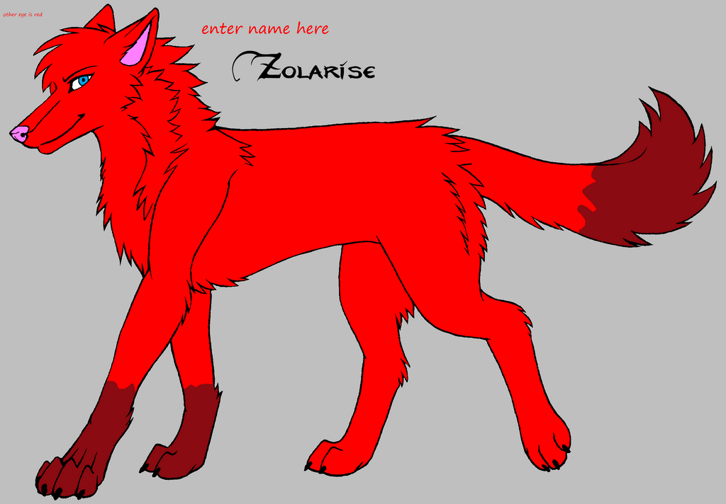 wolf oc 3 by darkemilyrobin