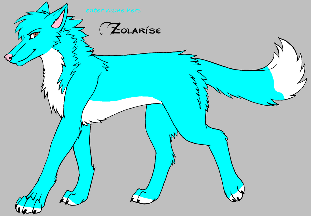wolf oc 4 by darkemilyrobin