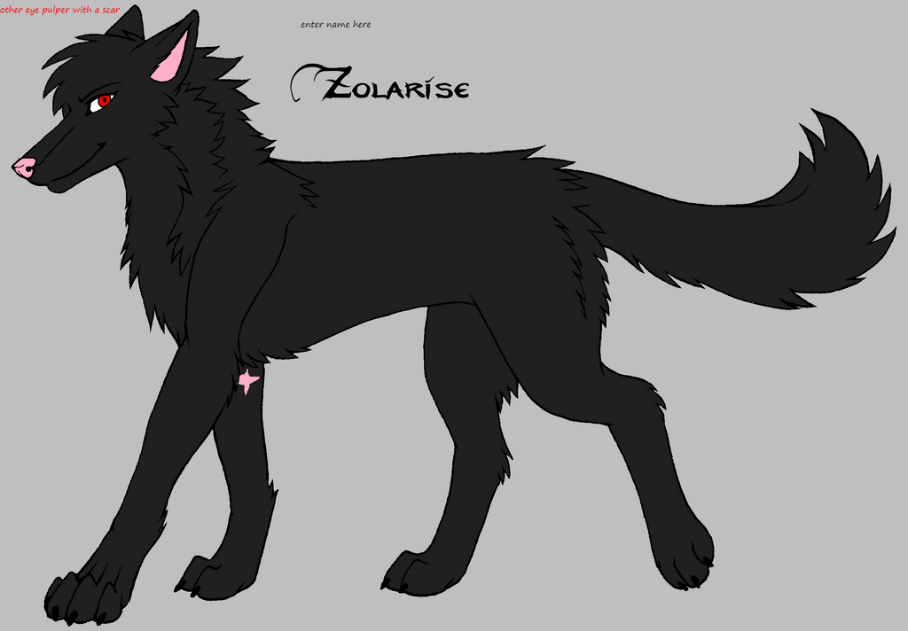 wolf oc 6 by darkemilyrobin