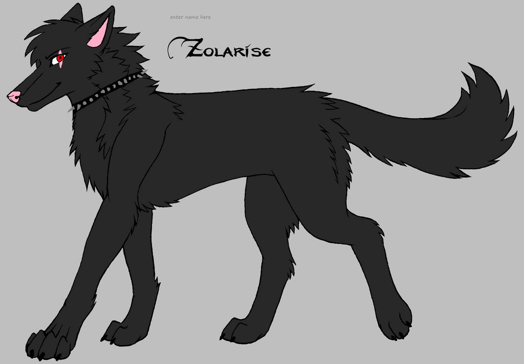 wolf oc 7 by darkemilyrobin
