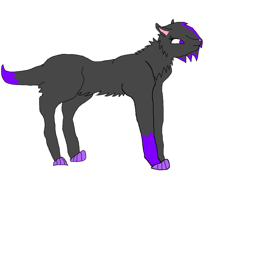 um my wolf OC lol by darkemilyrobin