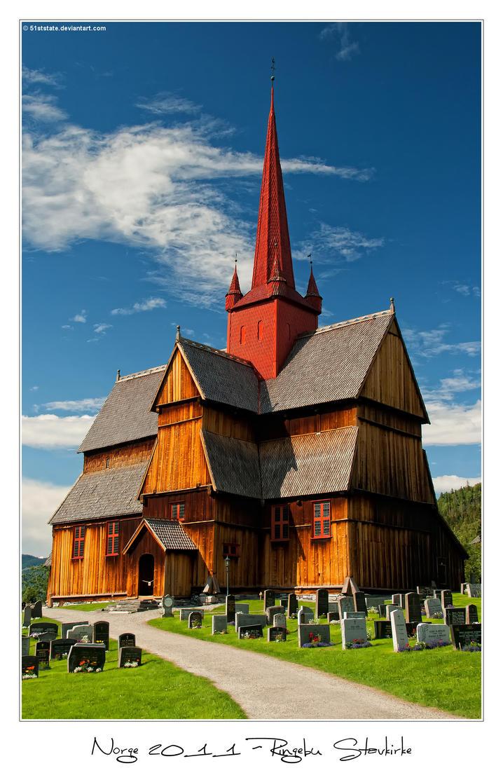 Norge 2011 - Ringebu Stavkyrkje by 51ststate