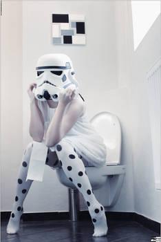 Stormtrooper Off Duty - I