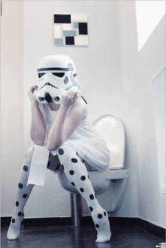 Stormtrooper Off Duty - I