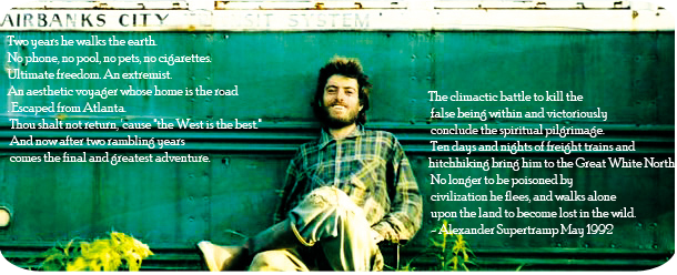 Christopher Mccandless Quotes On Society. QuotesGram