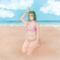 beach by korson00