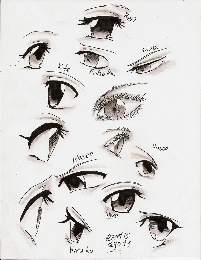Anime Eyes by Kurapikas-Heart on DeviantArt
