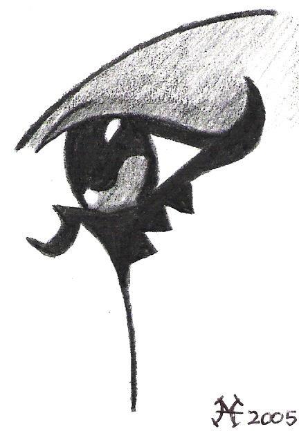 Goth Eye By Mandy The Mental