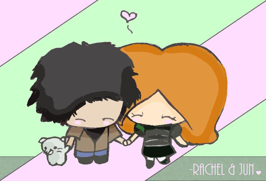 - Happy Rachel and Jun by Panda-Mamaful