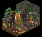 Witches cottage