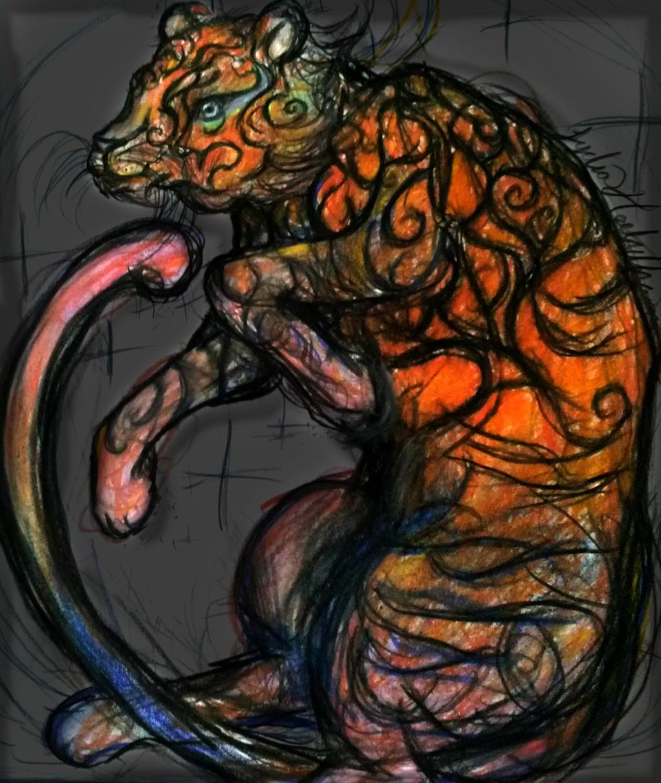 Magic Tiger by Seffen