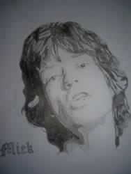 Mick Jagger by Nightwishel