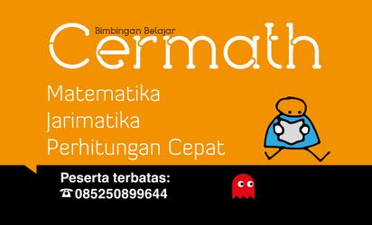Cermath Poster Orange by searchcrawler
