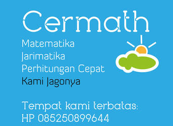 Cermath Poster Blue by searchcrawler