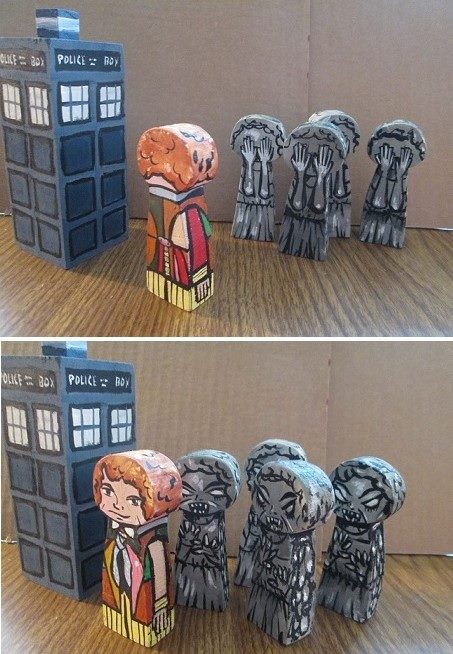 Weeping angels by kettleart