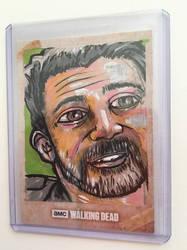 Walking Dead Sketch Card 2 by kettleart