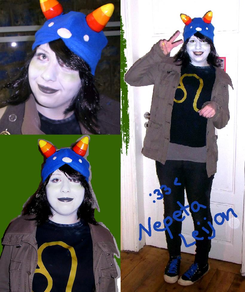 nepeta leijon cosplay halloween by izzytheragdoll on