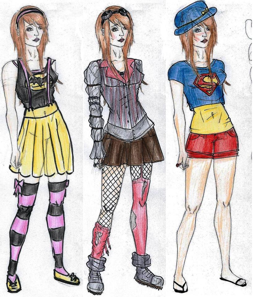 Supernerds Fashion Sketches Matilda by IzzytheRagdoll on DeviantArt