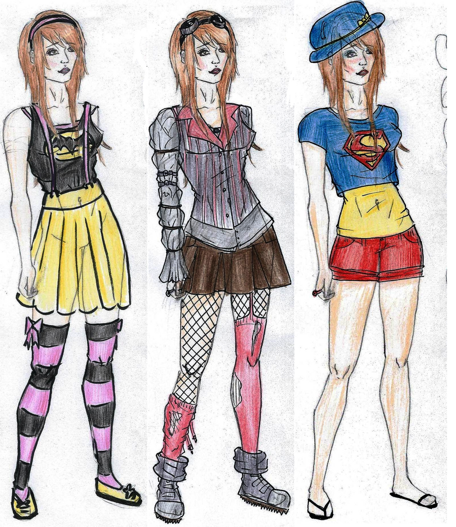 Supernerds Fashion Sketches Matilda By IzzytheRagdoll On DeviantArt