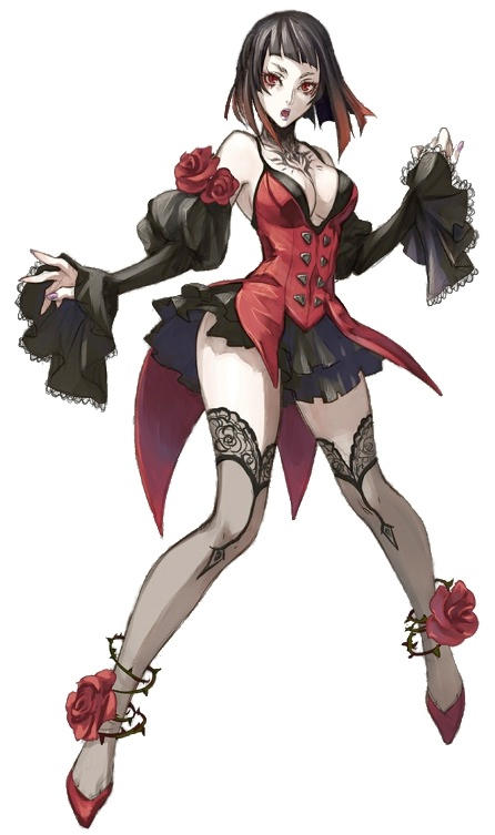 Tekken Eliza Early Concept Art No Horns By Fotoshopa On Deviantart