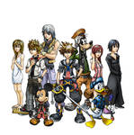 KH finished coloring