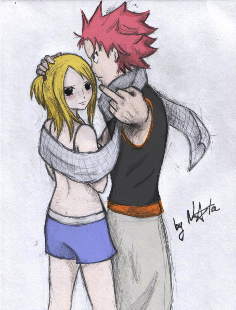 Fairy tail natsu and lucy by elyata on deviantart - Fairy tail natsu x lucy ...