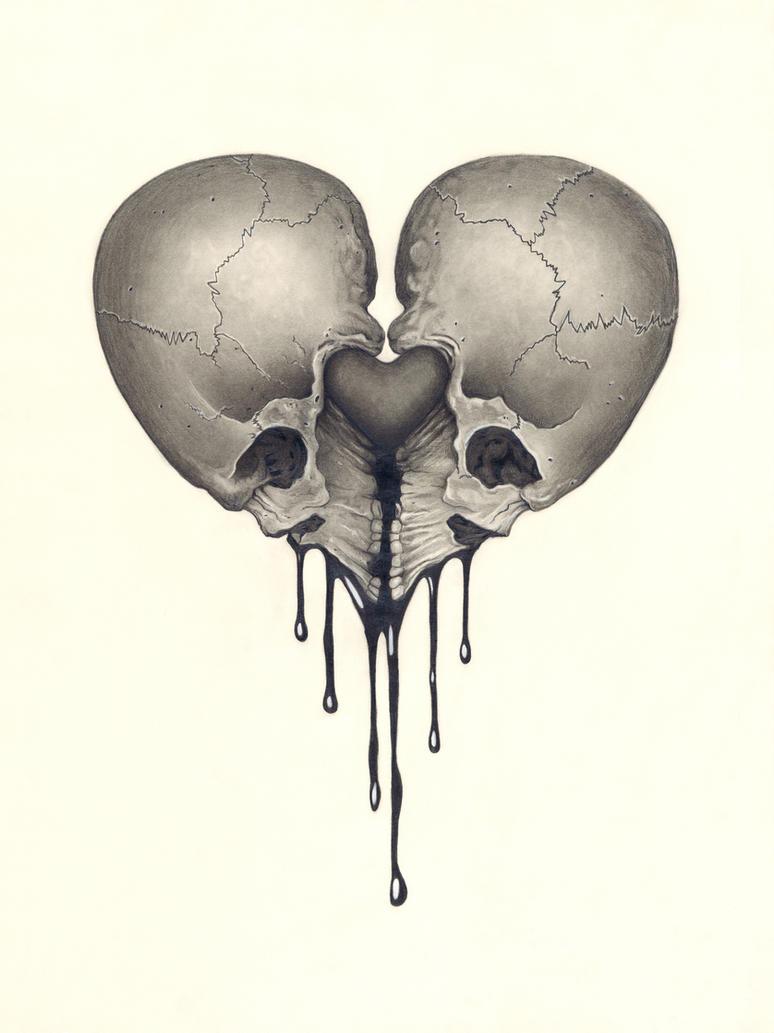 HeartSkull by Keaton Kohl by KeatonKohl