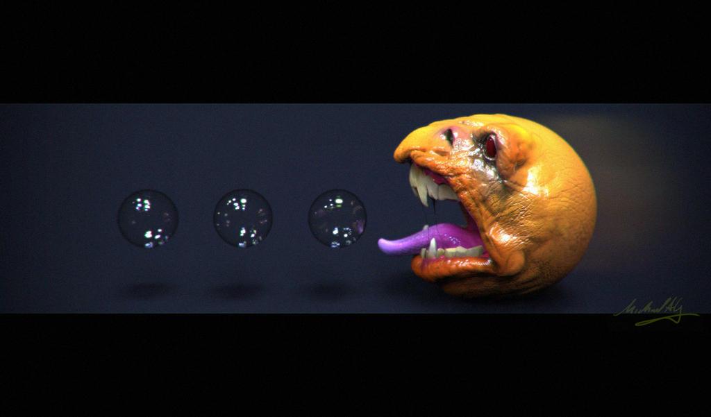 Pac Man Speedsculpt by MitchGrave