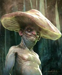 Mushroomhead Speedsculpt by MitchGrave