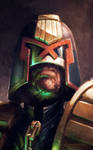 Judge Dredd by MitchGrave