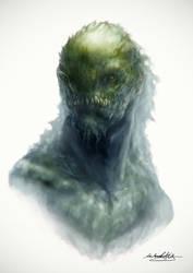 Swamp Creature by MitchGrave