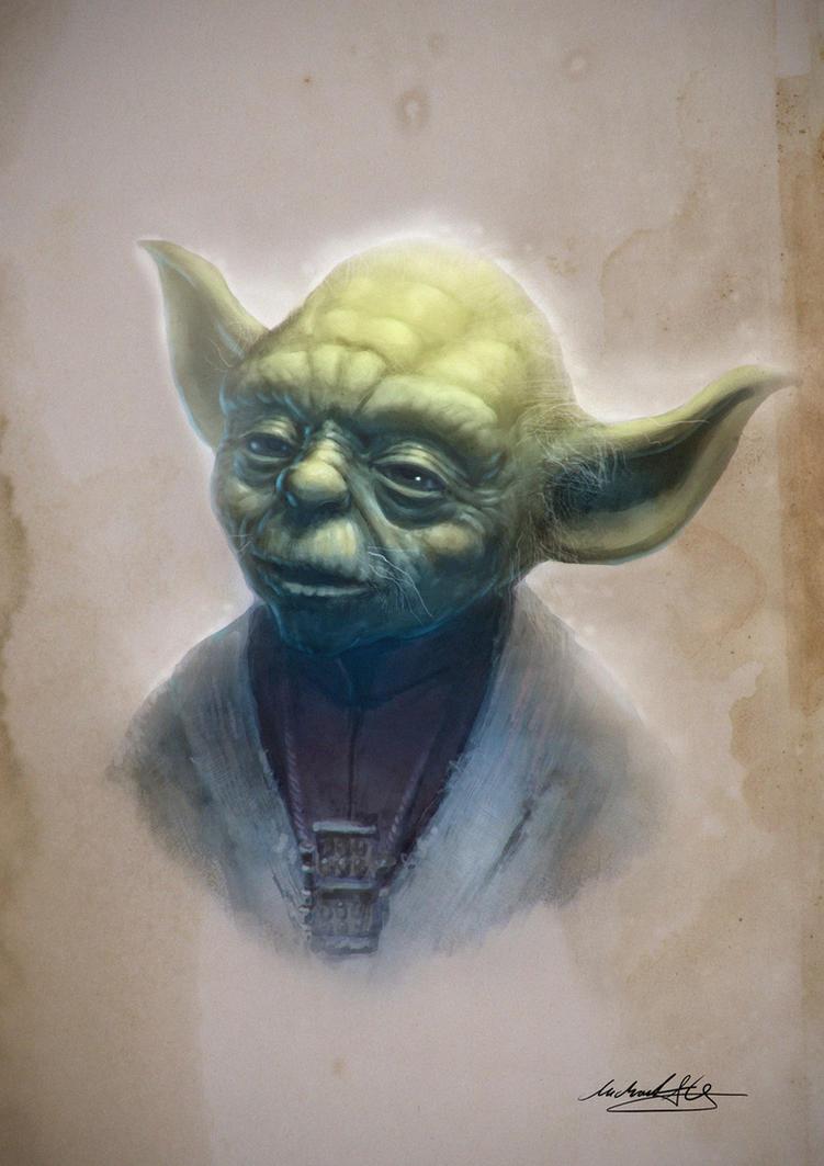 Yoda by MitchGrave