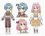 [OPEN] 5$ / 500 POINTS pastel adoptables by arimeu