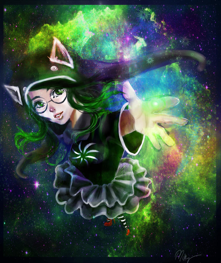 The Witch of Space by swagpancake