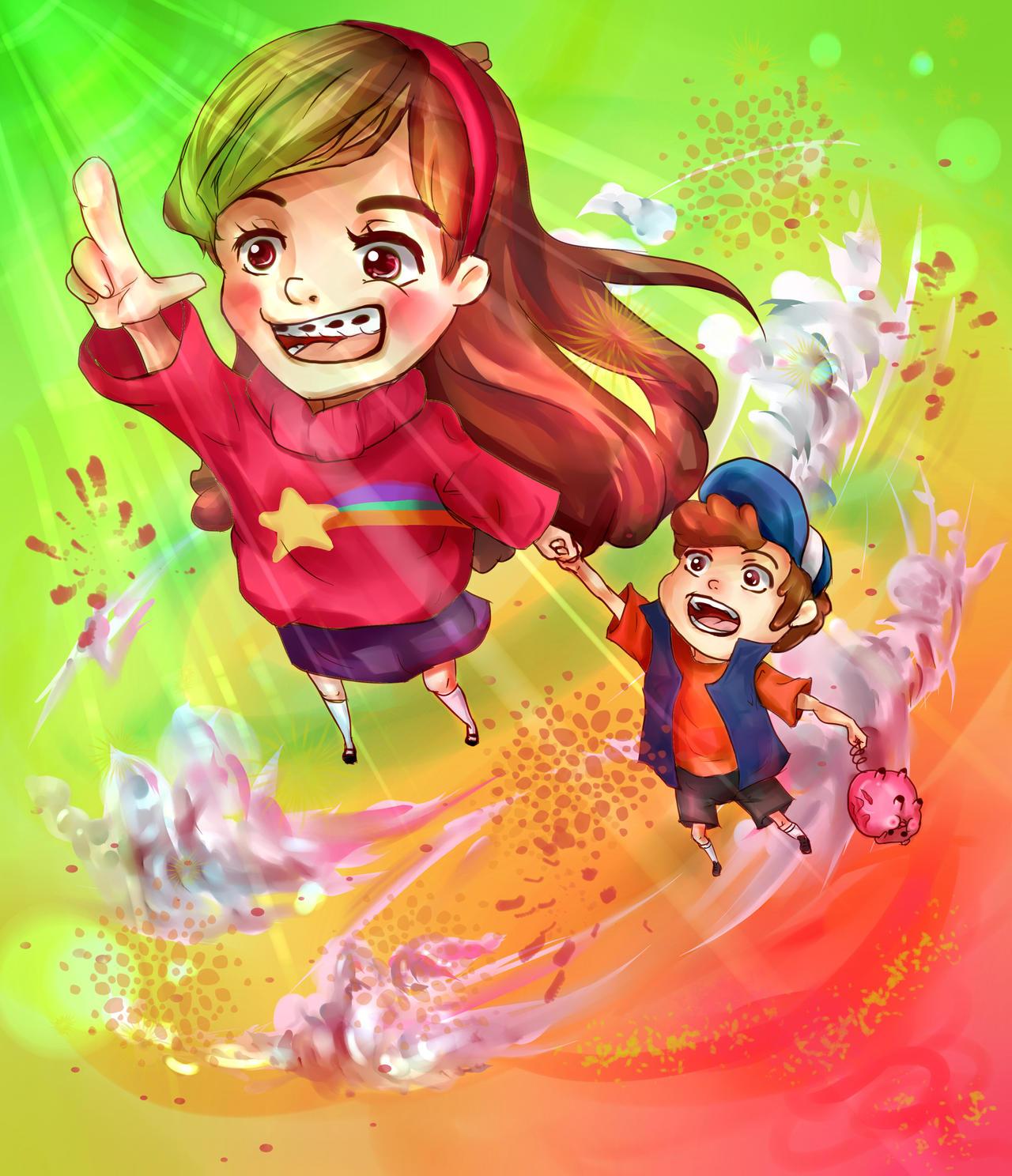 Gravity Falls by swagpancake