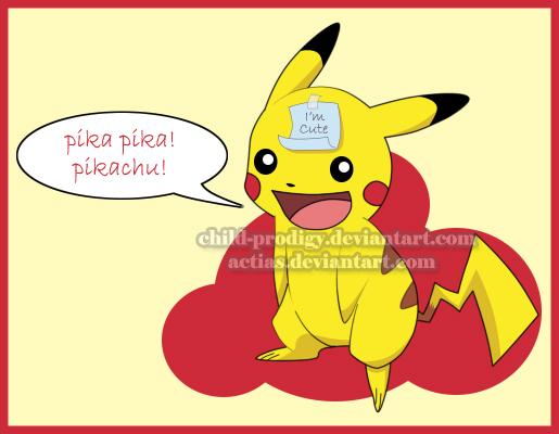 Pikachu by child-prodigy