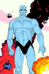 Dr Manhattan by TheSmilingPsycho