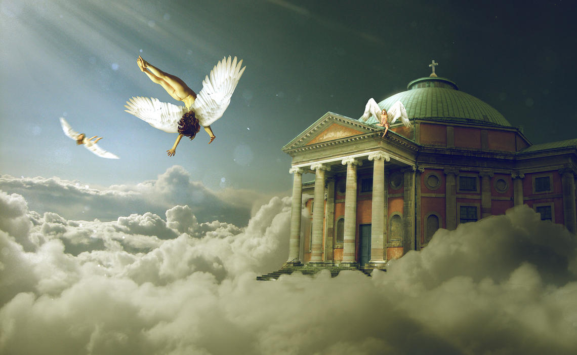 Angels in Heaven by CanisL7