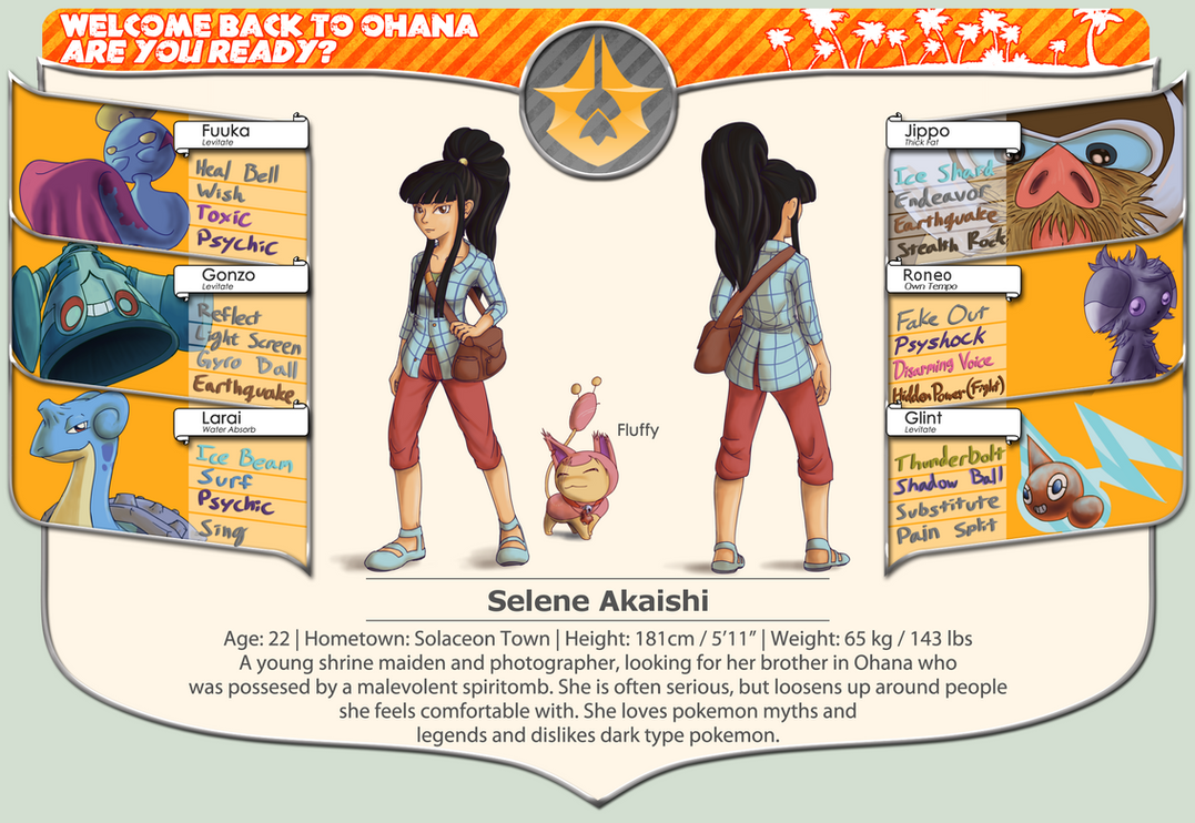 BFOI Year 2 - Selene Akaishi by LukkiStarr