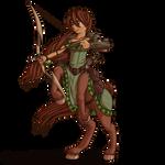 Sahral the Centaur Druid