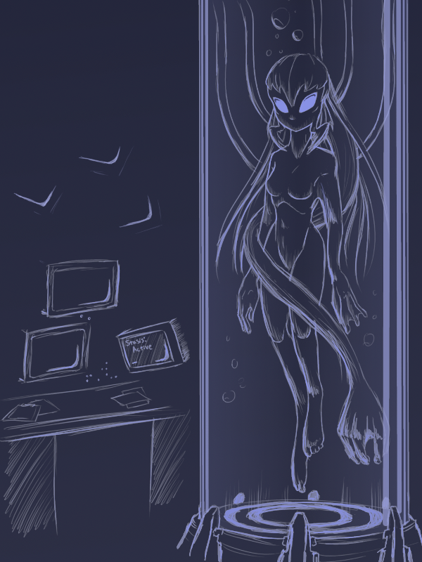 2016 monster girls challenge alien by lukkistarr on deviantart. Black Bedroom Furniture Sets. Home Design Ideas