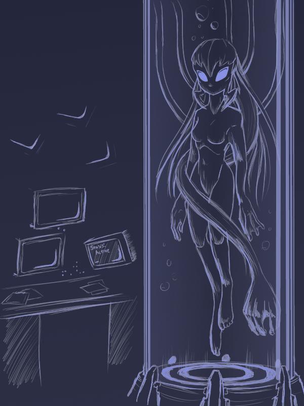 2016 monster girls challenge alien by lukkistarr on deviantart. Black Bedroom Furniture Sets. Home Design Ideas