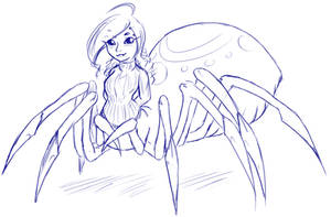 Lucy Spider by LukkiStarr