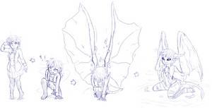 Mana's True Form by LukkiStarr
