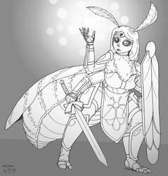 Distracted Moth Paladin