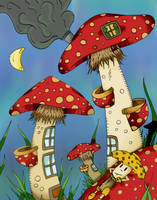 Mushrooms by RenGMK