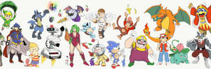 EVERYONE IS HERE 3 An All Out Brawl
