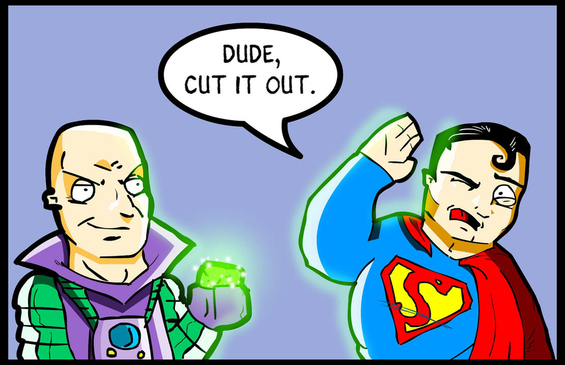 Lex Luthor Is A Jerk By ArmatureBoy On DeviantArt
